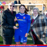 Motherwell Player of the match Donna Paterson